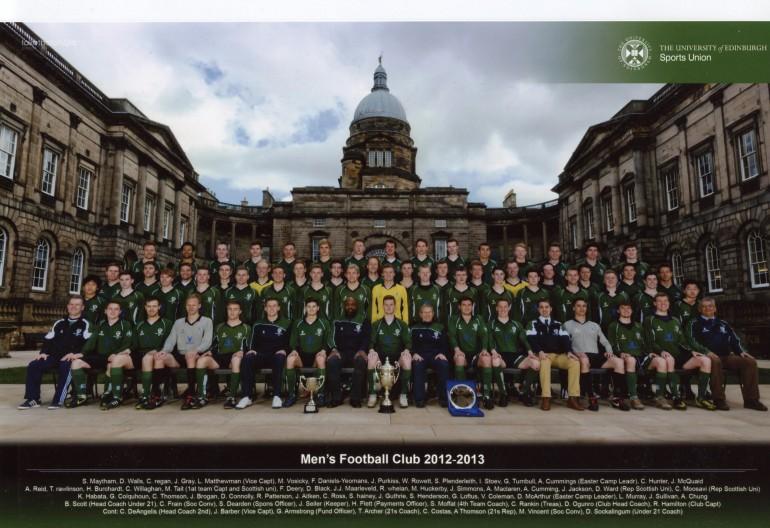 EUAFC Squad Photo 2012-2013